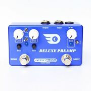 Mosky Audio Deluxe Pre-amp Overdrive And Boost W/toggle Options New
