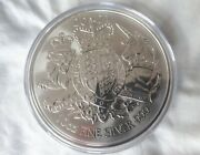 10oz 2021 Silver Coin The Royal Arms Uk Coat Of Arms Ten Ounces Queenand039s Beasts