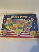 Milton Bradley Puzzle Map Of The United States