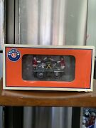 Lionel North Pole Express Santa And Mrs. Clause Handcar 6-38853 Nib Collectible
