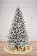 Artificial Snow-covered Spruce. The Christmas Tree.new Year 7ft