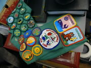 'girl Scout Cross Body Banner' With Patches. Dutchess County New York. Junior Ai