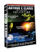 Arthur C Clarke Complete Dvd Series Collection Mysterious World Universe New Set