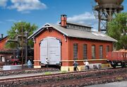 Ho Scale Buildings - 39307 - H0 Loco Shed Single Track - Kit
