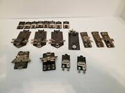Lot Of 19 Connector Lionel Lock-ons Various Styles Ctc, Usa / Free Shipping