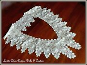 Antique Needle Lace Tenerife Dating To 1920's Excellent Condition Span