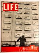 Vintage Life Magazine February 14, 1944- Wall Of Fame Wwii Coke Ad Old Ads