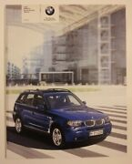 2006 Bmw X3 3.0i Dealership Brochure - 76 Pages - Must See
