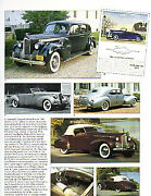 1940 Packard Darrin + 110 + 120 + 180 Article - Must See - Convertible