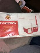 Bachman Tv Station Brand New Unwraped Pastic Wrap