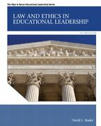 Law And Ethics In Educational Leadership 2nd Edition By David L. Stader New