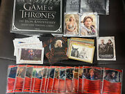 Game Of Thrones Iron Anniversary Series 1 Mini Master Base 5 Chase-183 Cards