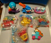 Animaniacs Mcdonalds 1994 Happy Meal Toys Complete Set Of 8 Free Shipping