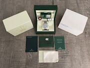 Rolex - 39mm Mk1 Stainless Steel Explorer 214270 Full Set With Box And Papers Card