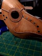 Hand Made Leather Plague Doctor Mask