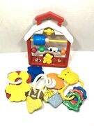 Vintage Lot Of Baby, Kids Rattles, Toys, Puzzles Fisher Price 90's, Sports, Farm