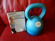 Empower Kettle Adjustable Weight And Dvd Workout Kettlebell 5-8-12 Lb 3-in-1