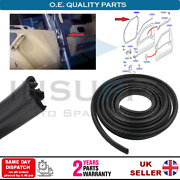 Front Door Weatherstrip Rubber Seal L/r For Ford Transit / Tourneo Connect 02-13