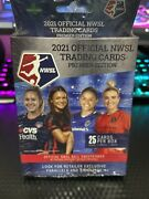 2021official Nwsl Trading Cards Premier Edition Hanger Box Women Soccer Lot Of 3