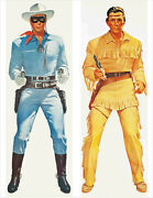 The Lone Ranger And Tonto Life Size Posters Set Of 2 Two 20 X 60 Inches