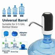 Water Bottle Pump 5 Gallon Drinking Water Screw Top Or Crown Tops Usb For Home