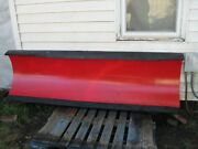 Refurbished Western Snow Plow For Christ Ministry