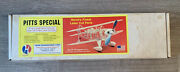 """Herr Engineering Pitts Special 24"""" Laser Cut Top Quality Balsa Plane Kit"""