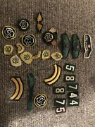 Vtg Girl Scouts Usa Lot Of Rare Iron On Embroidered Badges Patches Kinderhook Gs