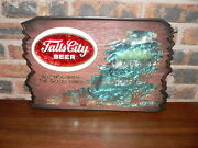Vintage Falls City Beer Belongs With The Good Times Advertising Bar Wall Sign