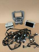 15-16 Ford Mustang Audio Control Panel Bezel Cd/dvd Player Receiver Wire Harness