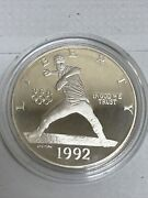 1992-s Proof U.s. Olympic Commemorative Silver Dollar Proof Coin Only
