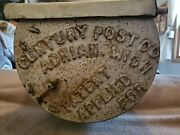 Antique Horse Delivery Mail Box - Century Post Co. Adrian Michigan August 1901