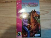 Barbie Horse Adventures Wild Horse Rescue Playstation 2 Ps2 Manual Only