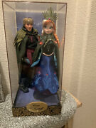 Disney Fairytale Designer Collection Anna And Kristoff Limited Edition Doll Set