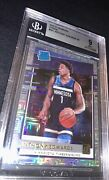 Anthony Edwards Donruss Choice Infinite Rookie Bgs 9 Mint Mojo Twolves Rc