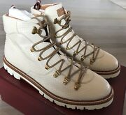 2000 Bally Real Python Hiker Boots Size Us 11.5 Made In Switzerland
