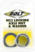 Bolt Mc Hardware Axn22 Locking Axle Nut And Washer See Fit