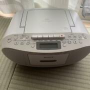 Sony Cfd-s50 Cd Radio Cassette Player Boombox F/shipping From Japan W/t. K3807