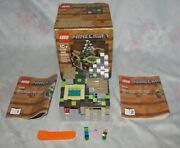 2013 Lego Set 21105 Minecraft Micro World The Village Complete With Box