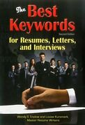 Best Keywords For Resumes, Letters, And Interviews By Wendy S. Enelow And Louise
