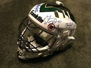 Dallas Stars Stanley Cup Champions 98-99 Team Signed Autographed Goalie Mask