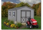 Best Barns Elm Woodshed Kit - 10and039x12and039 10and039x16and039 Opt. Floor/no Floor