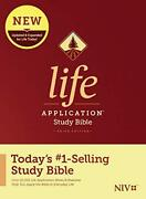 Niv Life Application Study Bible Third Edition By Tyndale - Hardcover New