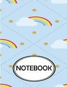 Notebook Dot-grid,graph,lined,blank Paper Rainbow Cloud By Ethan Rhys New