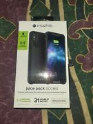 Brand New Mophie Juice Pack Access Battery Case For Apple Iphone Xs Max - Black