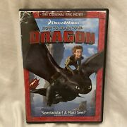 How To Train Your Dragon - Dvd By Butler Dreamworks Action Animated Family D634