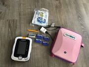 Vtech Innotab 3 Pink With 5 Games Lot Carry Storage Case Learning System Tablet