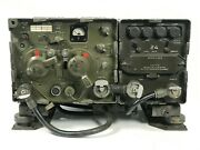 Signal Corps Us Army Rec-trans Rt-68/grc W/ Power Supply