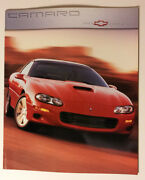 2000 Chevy Camaro Brochure - Must See - 34 Pages - Ss + Z28