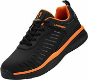 Larnmern Plus Wide Toes Walking Running Shoes For Men Orthopedic Sport Sneakers